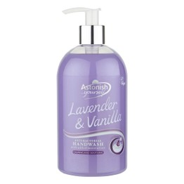 Astonish Antibacterial Handwash Lavender & Vanillla 500ml