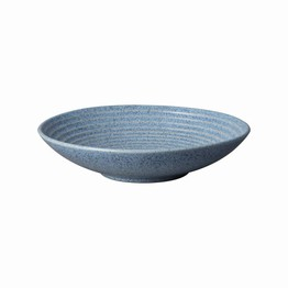 Denby Studio Blue Medium Ridged Bowl Flint 409010683