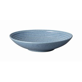 Denby Studio Blue Large Ridged Bowl Flint 409010684