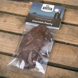Novelty Solid Milk Chocolate Cornish Pasty
