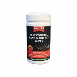 Rentokil Pest Control Hand and Surface Wipes FPW44