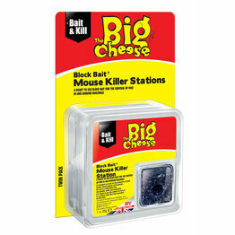 STV Big Cheese Block Bait Mouse Killer Station STV210