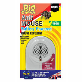 STV Big Cheese Anti Mouse Battery Powered Repellent STV820