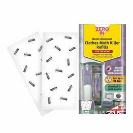 STV Zero In Clothes Moth Killer Demi Diamond Refills Pack of 2 ZER438