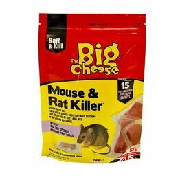 STV Big Cheese Mouse & Rat Killer Pasta Sachet x15 STV223