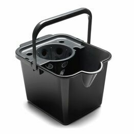 Addis Mop Bucket & Wringer Black 514063