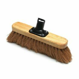 Addis Varnished Broom Head Soft Coco 275mm