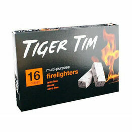 Tiger Tim Firelighters 16pack
