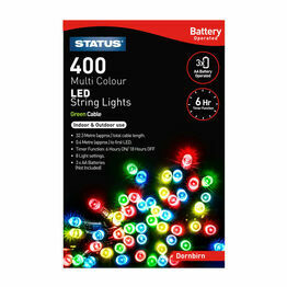 Christmas Lights Battery Operated 400LED