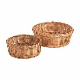 Buff Willow Bread Baskets