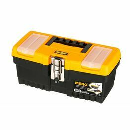 Mano Toolbox with Metal Latch 13inch