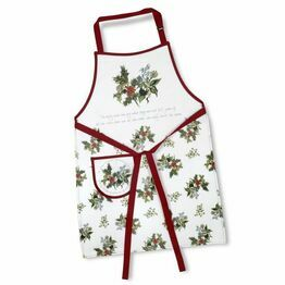 Pimpernel The Holly and The Ivy Cotton Apron