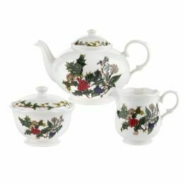 Pimpernel The Holly and The Ivy 3pc Tea Gift Set