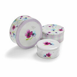 Chatsworth Cake Storage Set of 3 Tins