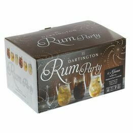 Dartington Rum Glass Party Pack of 6