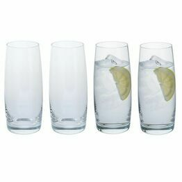Dartington Crystal Cheers! Tumbler Glass 4pk
