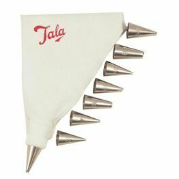 Tala 9924 Icing Bag Set with 8 Nozzles