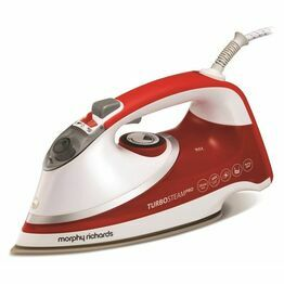 Morphy Richards Turbosteam Pro Pearl Ceramic Steam Iron