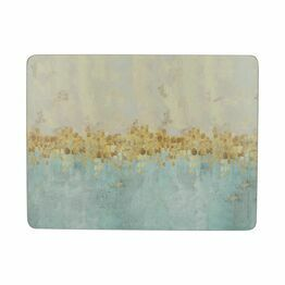 Creative Tops Golden Reflections Pack of 6 Tablemats or Coasters