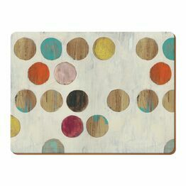 Creative Tops Retro Spot Pack Of 6 Premium Tablemats or Coasters