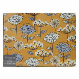 Cooksmart Retro Meadow Placemats or Coasters