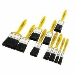 Stanley Hobby Paint Brush Set 10pc