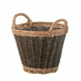 Log Basket 2 Tone Small