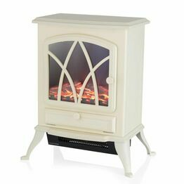 Stirling 2KW Electric Fire Stove Cream WL46018C