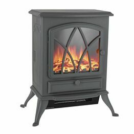 Stirling 2KW Electric Fire Stove Grey WL46018G