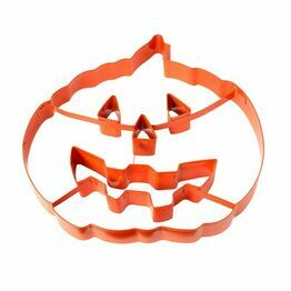 Giant Halloween Pumpkin Cookie Cutter Pie Topper