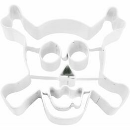 Giant Halloween Skull and Cross Bones Cookie Cutter