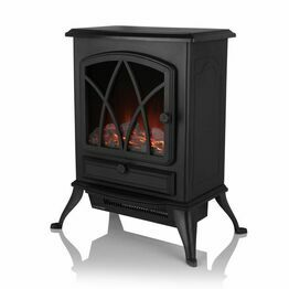 Stirling 2KW Electric Fire Stove Black WL46018