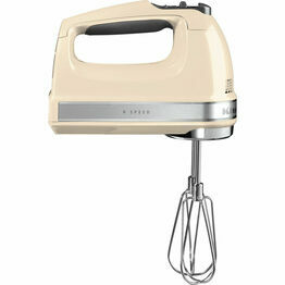 Kitchenaid Hand Mixer 9 speed Almond Cream 5KHM9212