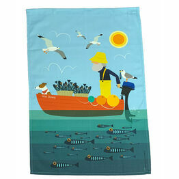 Sea Dawg 100% Premium Cotton Tea Towel