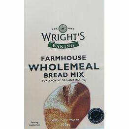 Wrights Farmhouse Wholemeal Bread Mix 500g