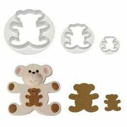 PME Teddy Bear set of 3 Cutter TB501
