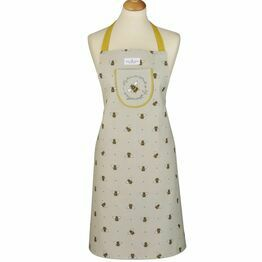 Cooksmart Bumble Bees Cotton Apron