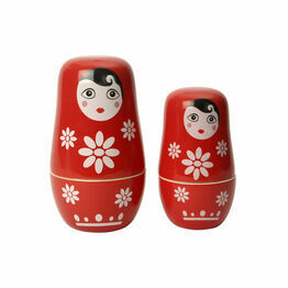 Russian Doll Measure Cup Set