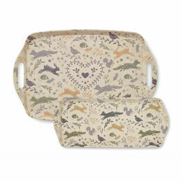 Cooksmart Serving Trays Woodland Design