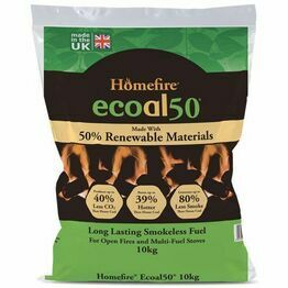 Homefire Ecoal 50 Smokeless Coal 10kg