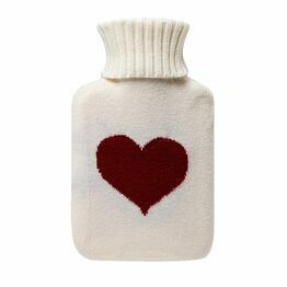 Hot Water Bottle 750ml Love Heart