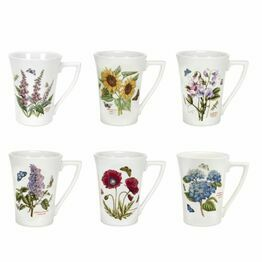 Portmeirion Pottery Seconds Botanic Garden Mugs 0.28ltr