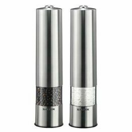 Stainless Steel Salt & Pepper Mill Set 7522SSTUR15