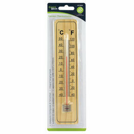 Redwood Wooden Garden Thermometer GT200
