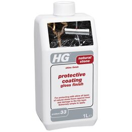 HG Protective Coating Gloss Finish Natural Stone 1Ltr