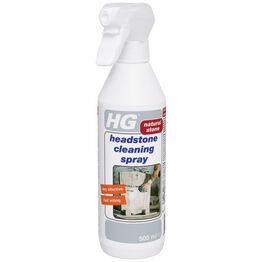 HG Natural Stone Headstone Cleaner Spray 500ml