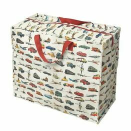 Recycled Storage Bag Jumbo Vintage Transport Design 25304