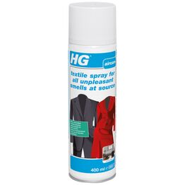HG Textile Spray Unpleasant Smells 400ml