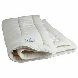 Devon Duvets Wool Mattress Topper Super Kingsize