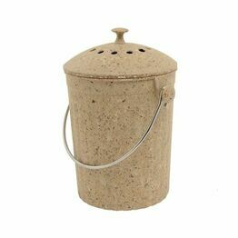 Eco Compost Pail - Natural Fibre